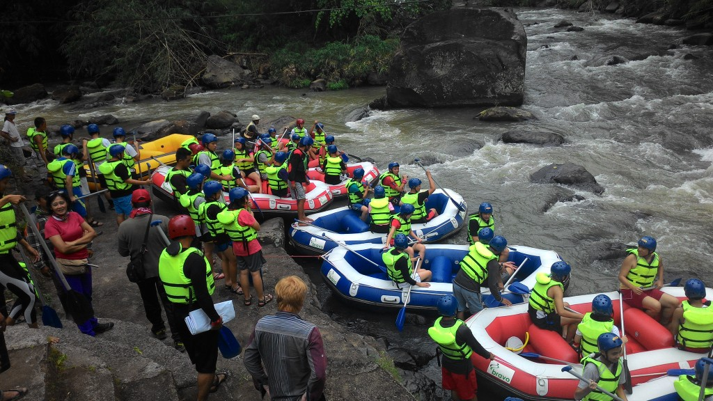 Starting point of Manado Rafting